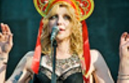 Courtney Love inspira a Moscú